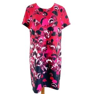 Tommy Hilfiger Red Floral Abstract dress